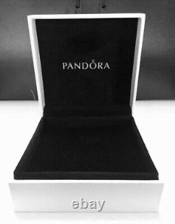 Authentic Pandora Medium Locket Necklace With Tropical Paradise Petites #590529-60