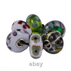 Authentic Trollbeads Glass 64603 Christmas in Australia, Kit-6 0 RETIRED