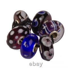 Authentic Trollbeads Glass 64604 Christmas in Hawaii, Kit-6 0 RETIRED