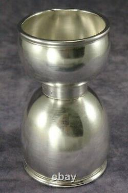 FISHER Sterling Silver 3 Jigger Shot Glass or Egg Cup 39 g