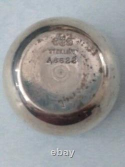 Gorham Sterling Silver Traveling Cup, Shot Glass/Jigger Set