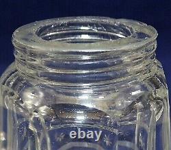 Incredible Sterling Silver & Cut Glass English Hallmarked Sugar Shaker Muffineer
