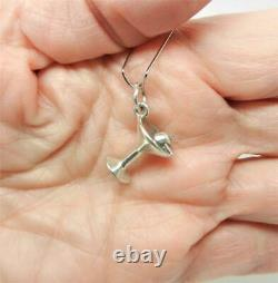 James Avery Retired Sterling Silver Martini Glass 3d Charm Rare Lb-c1696