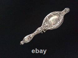 Krementz Sterling Silver Vermeil Chatelaine Lorgnette/Opera Glasses Victorian