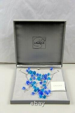 Lalique Muguet Large Light Blue Liliy Of The Valey S. S. New