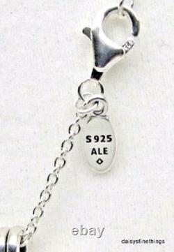 NEWithTAGS AUTHENTIC PANDORA NECKLACE FLOATING HEART LOCKET PENDANT #590544-60