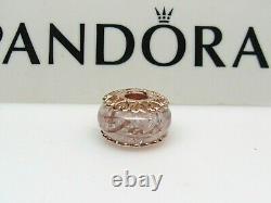 New Pandora Blushing Vegas Las Vegas ROSE Murano Bead Charm