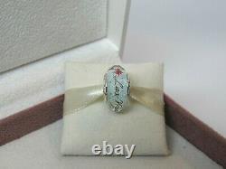 New Pandora Las Vegas Vegas Star White Murano Bead Charm ONLY 1 on eBay