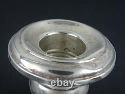 Old French by Gorham Sterling Silver and Glass Hurricane Lamp #662
