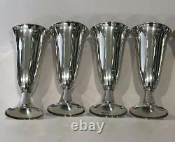 RARE Vintage Tiffany & Co. Sterling Silver. 925 Cordial Cups Shot Glass Set of 8