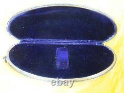 Rare 1800s Antique Gorham Sterling Silver Glasses Case