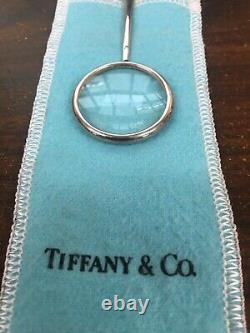Rare 1984 Tiffany & Co ELSA PERETTI Sterling Padova Magnifying Glass Pendant 925