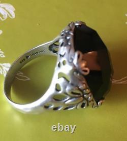 Silpada RARE SIZE 9 Caspian Teal Blue. 925 Sterling Silver Ring R2456 MINT