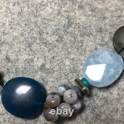 Silpada Watercolors Blue Sterling Silver Quartzite Agate NECKLACE N2228 NEW $139