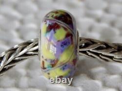 TROLLBEADS Trollstone Bead BEAUTIFUL Confetti & Troll Trails RARE (ONE) NEW
