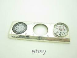Tiffany & Co. Sterling Silver Compass Magnifying Glass Ruler Thermometer A