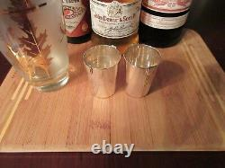 Tiffany & Co Sterling jiggers shot glasses pair Century Collection