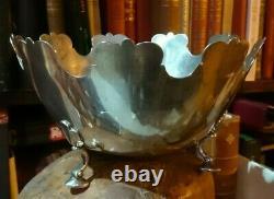 Tiffany Sterling silver centerpiece Wedding Glass cooler Wine bucket Champagne