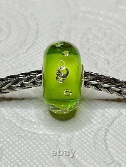 Trollbeads Crocodile, Diamond Bead, Australia, New Zealand, Green