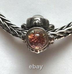 Trollbeads The Trinity! 00100 Silver Dichroic Bead