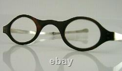 UNUSUAL GEORGIAN STERLING SILVER SPECTACLES READING GLASSES c1800 ANTIQUE