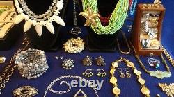 Vintage & Costume Jewelry Lot 281 Pieces, High End, 925, Quality, Signed