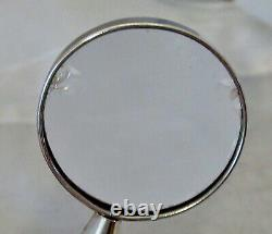 Vintage Rare Tiffany & Co. Sterling Silver Magnifying Glass Pendant Necklace